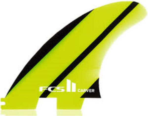 FCS FCS II CARVER NEO GLASS LARGE TRI FIN SET
