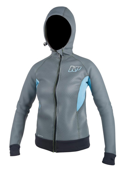 2018 NP ARMOR-SKIN HOODED SUP JACKET 1.5MM LADIES