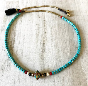 Tibetan Tribal Choker Necklace