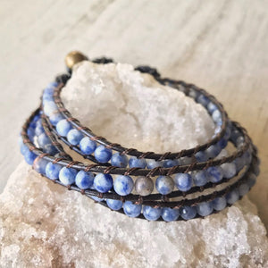Ocean Breeze Natural Stone Bracelet/Anklet