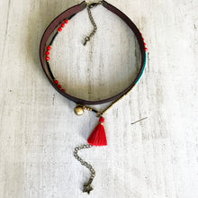 Colorful Mind Choker Necklace