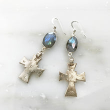 Love in Savanna Cross Earrings.      -       only 1 left