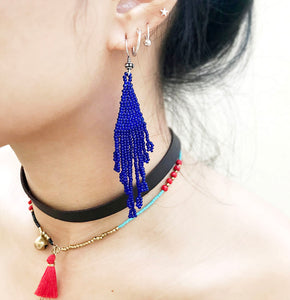 Electric Delight Drop Earrings