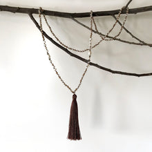 Coco Tassel Necklace with Freshwater Pearl (BACK IN STOCK!-With reduced price!!)