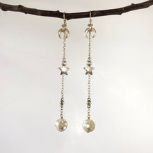 Lunar Eclipse Drop Earrings