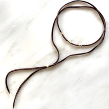 African Leather Warp Bolo