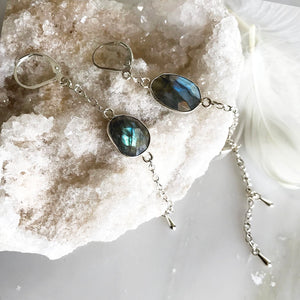 Blue Lagoon Drop Earrings
