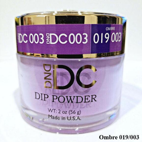 DND DC Dipping Powder 003 Blue Violet 2oz