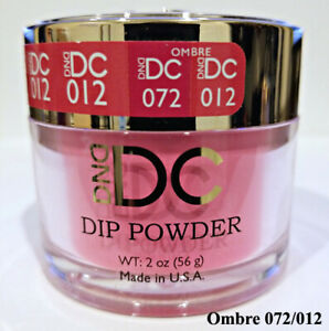 DND DC Dipping Powder 012 PEACOCK PINK 2oz