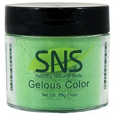 SNS Nail color dipping powder  GO GREEN  017  1 OZ
