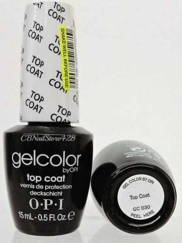 OPI Gel Color GC 030 Top Coat
