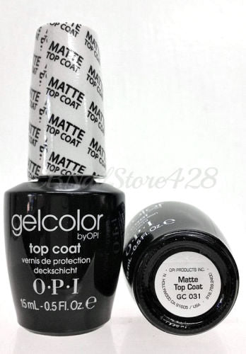 OPI Gel Color GC 031 Matte Top Coat