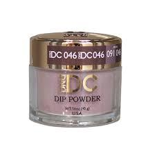DND DC Dipping Powder 046 Pewter Gray 2oz