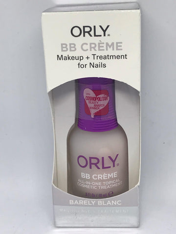 Orly BB Creme Topical Cosmetic Treatment Barely Blanc 6oz