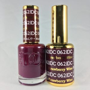 DND DC GEL & LACQUER Strawberry Wine DC062