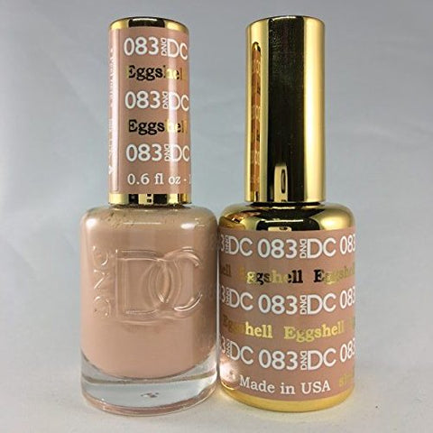 DND DC GEL & LACQUER  EGGSHELL DC083