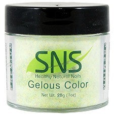 SNS Nail color dipping powder  SNOWFLAKE IN YELLOWSTONE  085  1 OZ