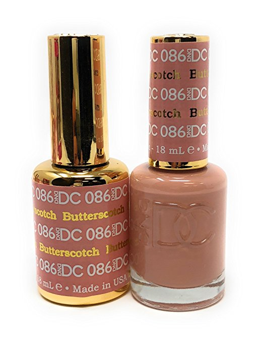 DND DC GEL & LACQUER   BUTTERSCOTCH DC086