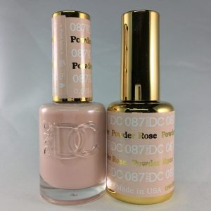 DND DC GEL & LACQUER Rose Powder DC087