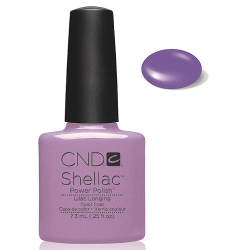CND Shellac Power Polish  LILAC LONGING #09856 .25 oz