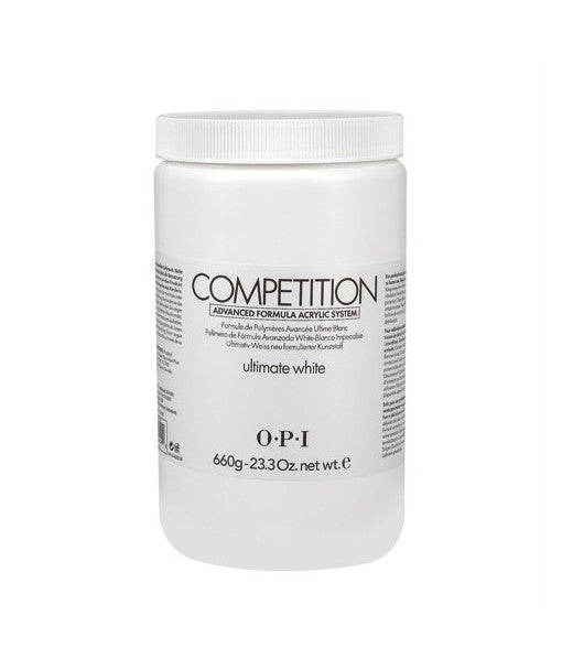 OPI competition powder ultimate white 23.3 oz  660 g  AE E53  np2