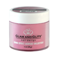 GLAM AND GLITS - MOOD EFFECT ACRYLIC - ME1045 WHITE ROSE