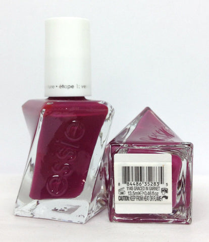 Essie Nail Polish Lacquer Graced In Garnet 1145