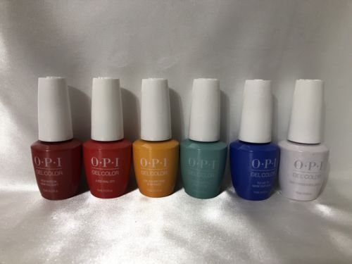 OPI GelColor UV/LED Soak off Gel Polish Lisbon Collection 6 pcs your choice any