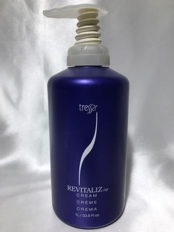 Tressa Revitalizing Cream Leave in Conditioner 33.8 Oz 1L