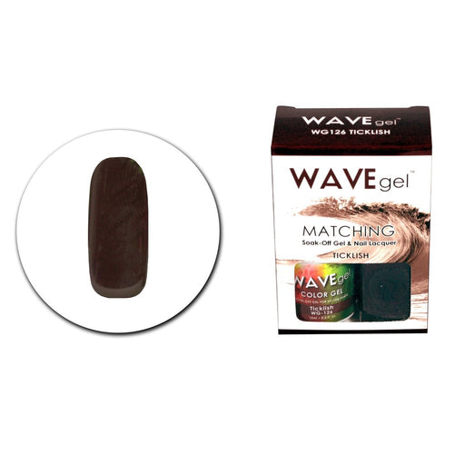 Wave Gel Matching Soak Off Gel Polish TICKLISH WG126 (W126)