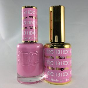DND DC GEL & LACQUER White Magenta DC131