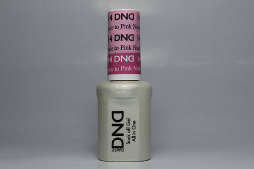 DnD Mood Change Gel Nude to Pink 14
