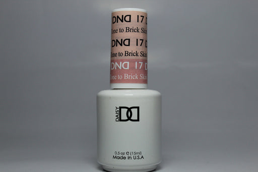DnD Mood Change Gel Skin Tone to Brick 17