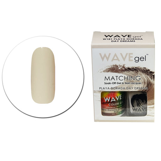 Wave Gel Matching Soak Off Gel Polish PLAYA DORADA DAY DREAMS W181 (W181)