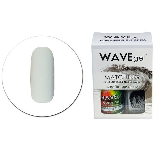 Wave Gel Matching Soak Off Gel Polish BLISSFUL CUP OF TEA W183 (W183)