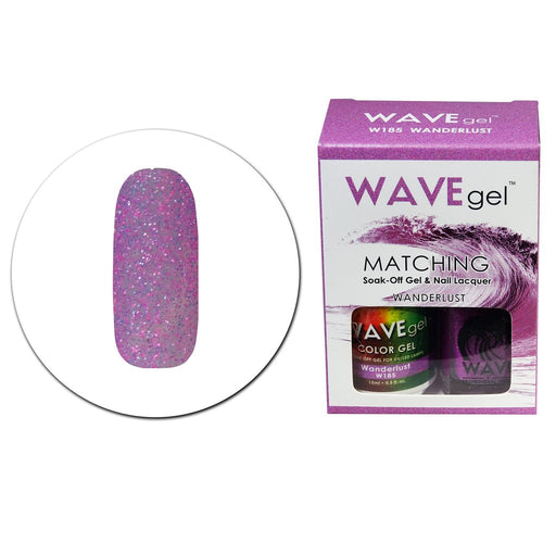 Wave Gel Matching Soak Off Gel Polish WANDERLUST W185 (W185)