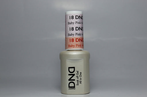 DnD Mood Change Gel Baby Pink to Peach 18