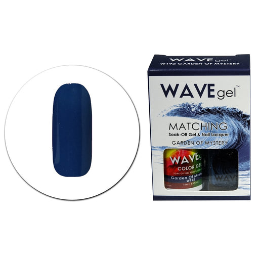 Wave Gel Matching Soak Off Gel Polish GARDEN OF MYSTERY W192 (W192)