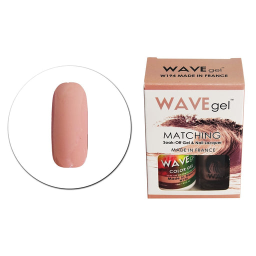 Wave Gel Matching Soak Off Gel Polish Made in France W194 (W194)