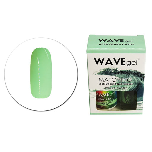 Wave Gel Matching Soak Off Gel Polish Osaka Castle W198 (W198)
