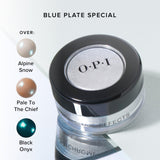 "OPI Chrome Effects Blue ""Plate"" Special CP004"