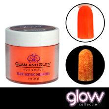 GLAM AND GLITS - GLOW ACRYLIC - GL2012 WICKED LAVA