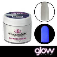 GLAM AND GLITS - GLOW ACRYLIC - GL2025 THERE SHE GLOWS