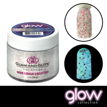 GLAM AND GLITS - GLOW ACRYLIC - GL2040 STAR DUST