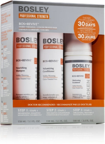 BOSREVIVE FOR COLOR-TREATED HAIR STARTER KIT