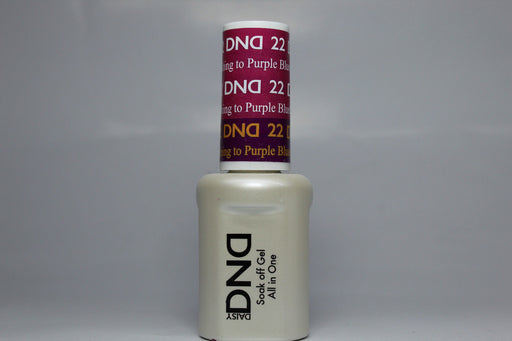 DnD Mood Change Gel Blushing to Purple 22