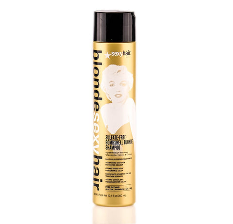 BLONDE SEXY HAIR SULFATE-FREE BOMBSHELL BLONDE SHAMPOO - 10.1 OZ