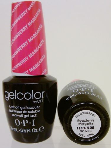 Opi Gel Color Gc M23 Strawberry Margarita Hebiss