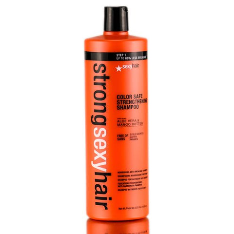 STRONG SEXY HAIR COLOR SAFE STRENGTHENING SHAMPOO - 33.8 OZ
