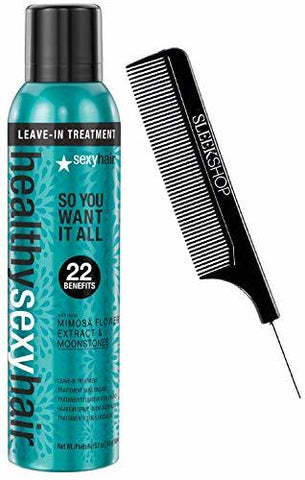 HEALTHY SEXY HAIR SO YOU WANT IT ALL LEAVE-IN TREATMENT 22 BENEFIT W/ COMB 5.1OZ - 5.1OZ